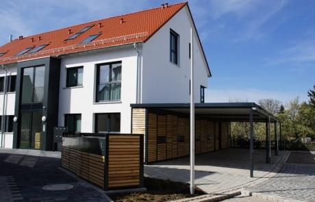Zimmerer und Fassadenarbeiten
