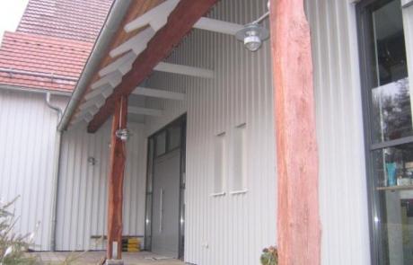 Aussenschalungen und Fassadengestaltung