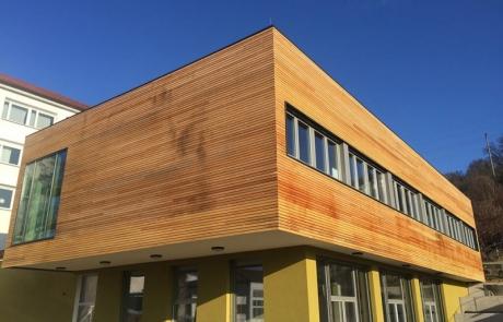 Holzständerbauweise (Ergänzungsbau) Jena Planschule